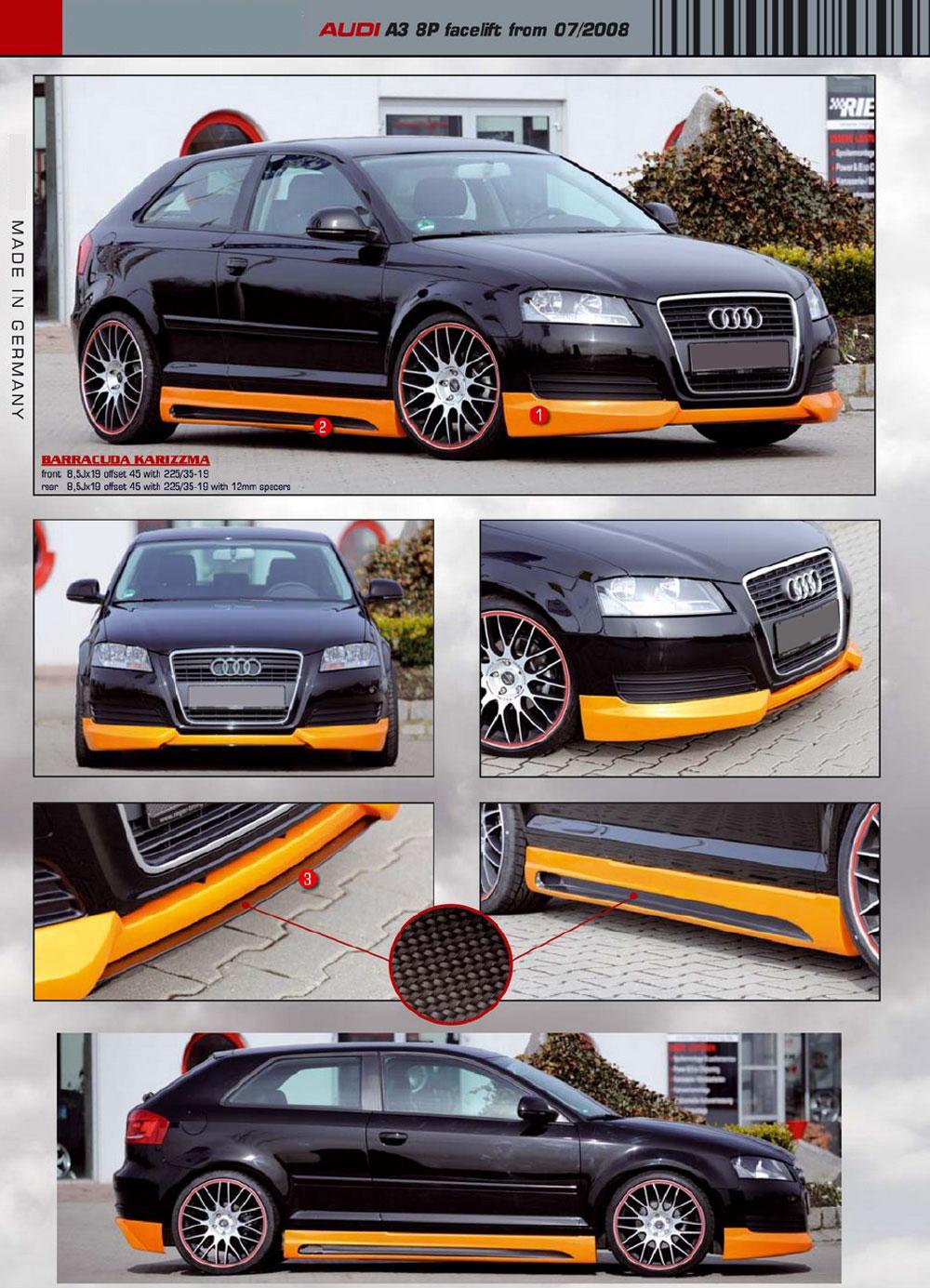 Audi a4 b7 Body Kit Audi a3 8p Rie Body Kits