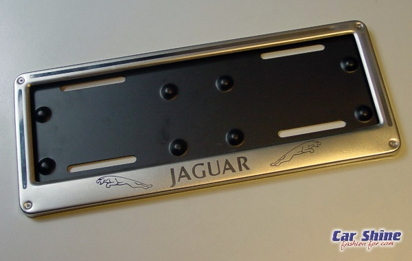 Charming Jaguar Accessories Number Plate Frames View ...